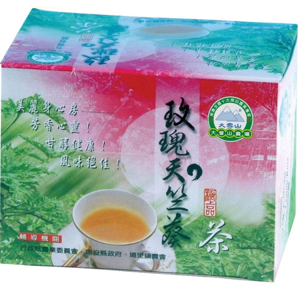 大雪山農場 玫瑰天竺葵茶包(10包x10盒)
