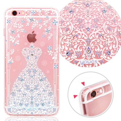YOURS APPLE iPhone6s Plus 奧地利彩鑽防摔手機殼-冰之戀...