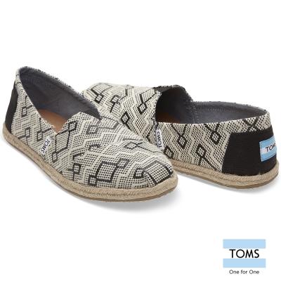 TOMS 幾何織紋懶人鞋-女款