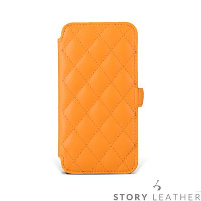 APPLE iPhone 6 / 6S (4.7吋) 硬殼式側翻菱格 客製化皮套
