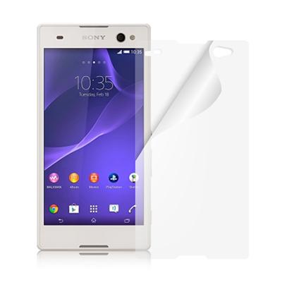 魔力 Sony Xperia C3 高透光抗刮螢幕保護貼