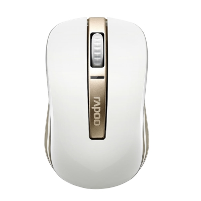Rapoo 雷柏 3920P-香檳金-5G無線雷射滑鼠