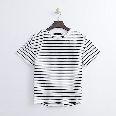 Hang Ten - 女裝 - 設計背綁帶T恤-白色