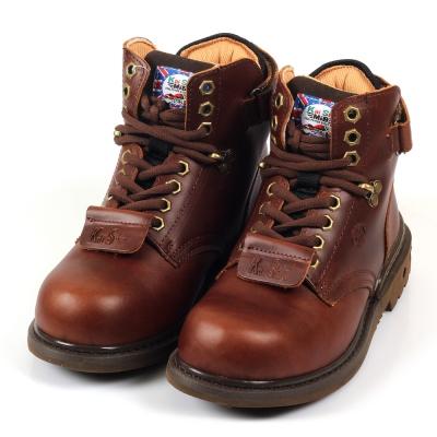 Kai Shin 高筒安全工作鞋 深咖啡