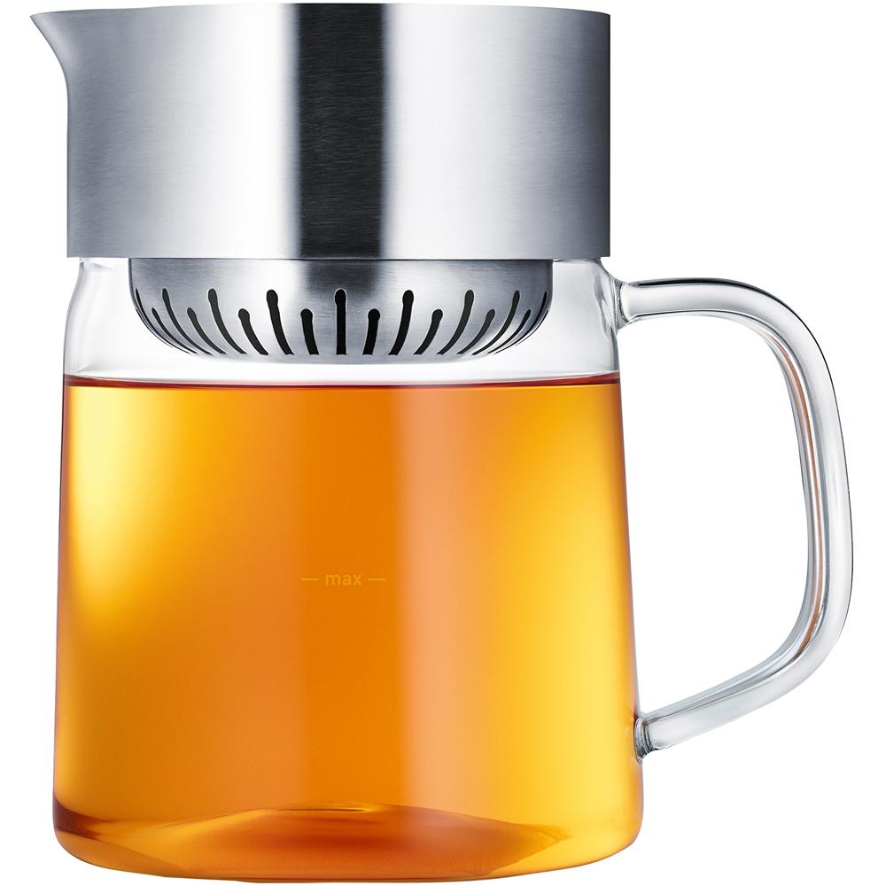 BLOMUS 旋蓋式玻璃濾茶壺(1L)