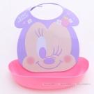 日本迪士尼 Baby米妮嬰幼兒防水多功能圍兜