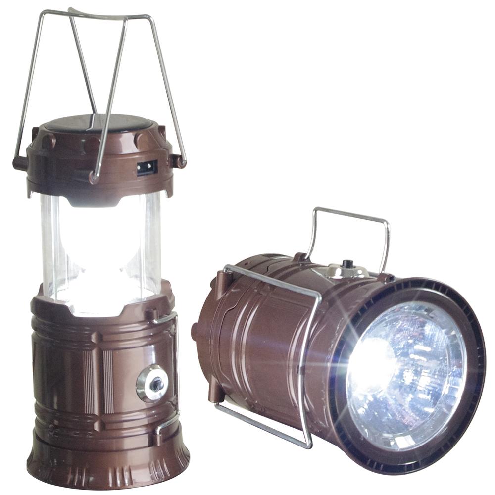 新一代 太陽能充電露營燈一個