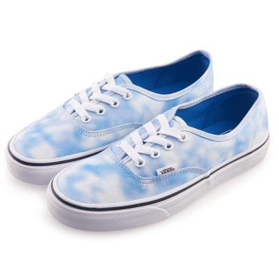 (女)VANS Authentic 經典暈染4孔休閒鞋*藍白