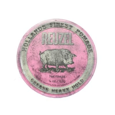 (即期品)REUZEL 粉紅豬油性髮油113g