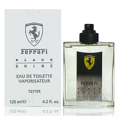 Ferrari Black Shine 光速男性淡香水 125ml Test 包裝
