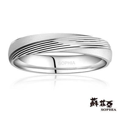 蘇菲亞SOPHIA 鉑金戒指-鵲橋鉑金女戒