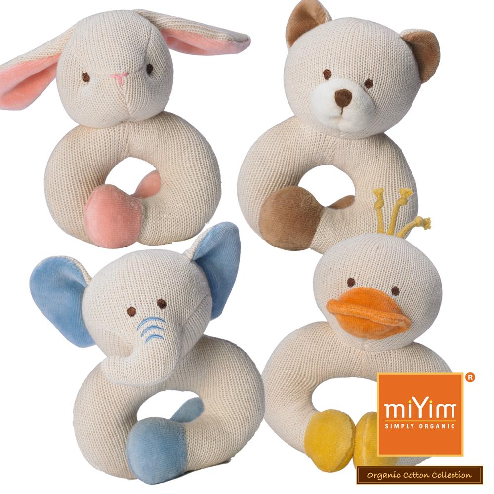 美國miYim有機棉 固齒器 手圈圈款