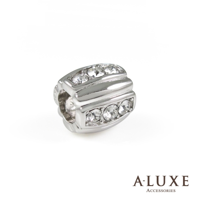 Charming系列 925純銀珠飾-鑽石桶 Diamond bucket