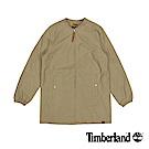 Timberland 女款英倫卡其色DV Mt Holly長版飛行外套