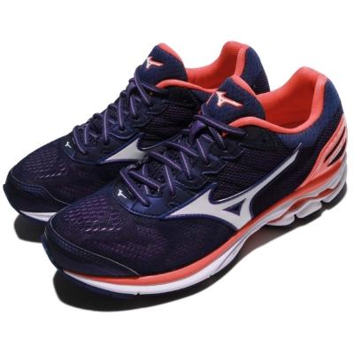 Mizuno 慢跑鞋 Wave Rider 21 運動 女鞋