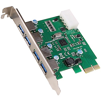 伽利略 PCI-E USB 3.0 4 Port 擴充卡 (Renesas-NEC)