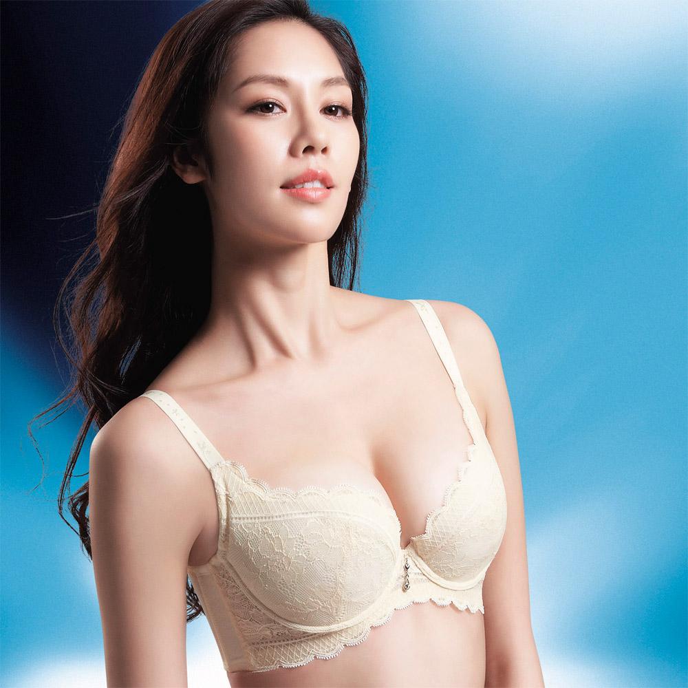 摩奇X-挺魔力胸罩B-C罩杯內衣(珍珠白)