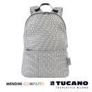 TUCANO X MENDINI 設計師系列超輕量折疊收納後背包-白
