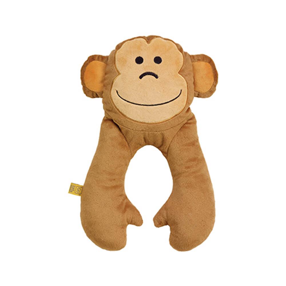 Go Travel 動物造型U型枕-猴子