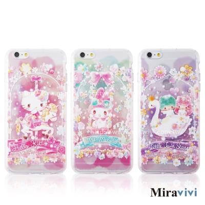 三麗鷗iPhone6/6s Plus繁花彩繪空壓保護套
