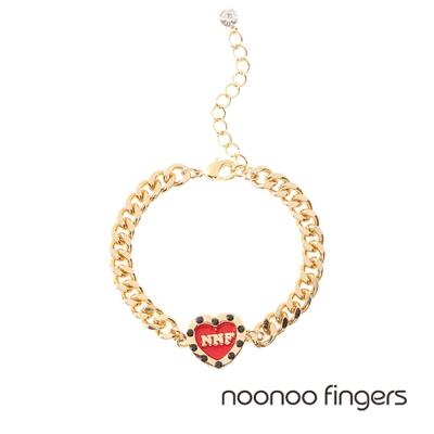 Noonoo Fingers Heart Bracelet 愛心 手鍊
