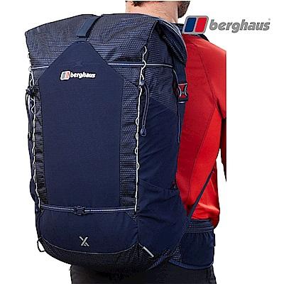 【Berghaus貝豪斯】輕量透氣45L登山背包T27X04-藍