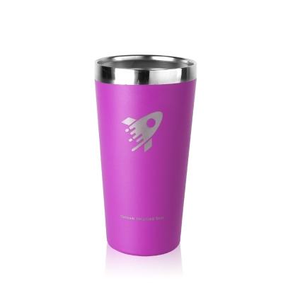 美國銳弗REVOMAX 316不鏽鋼鋼暢飲杯500ML-神秘紫(不含蓋)