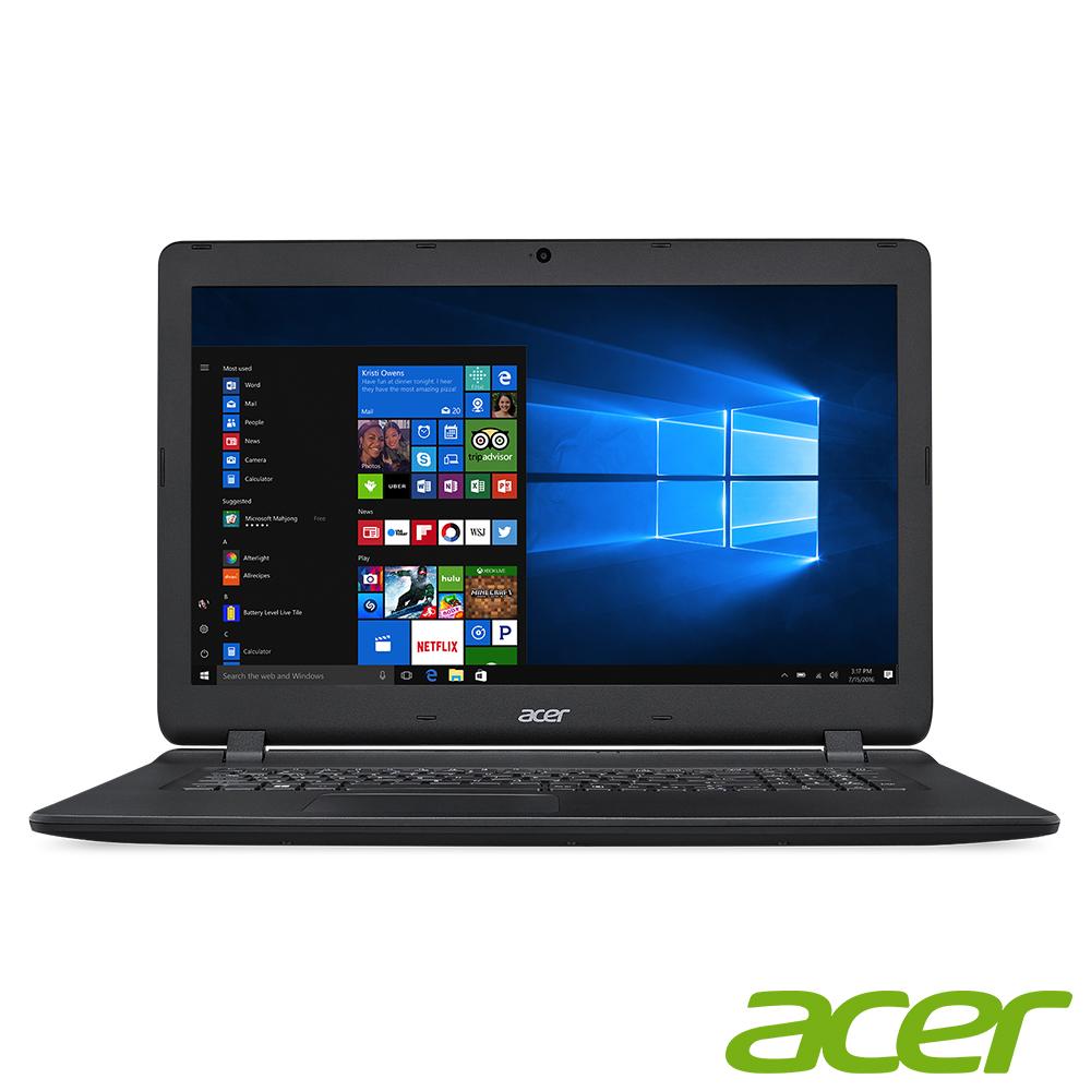 acer ES1-732-P15K 17吋筆電(N4200/1T/6G/黑/組