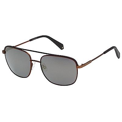 Polaroid 寶麗萊 水銀灰偏光太陽眼鏡 (古銅色)PLD2056S