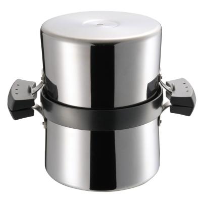 UCHICOOK 健康兩用油炸鍋●濾油壺(黑色)