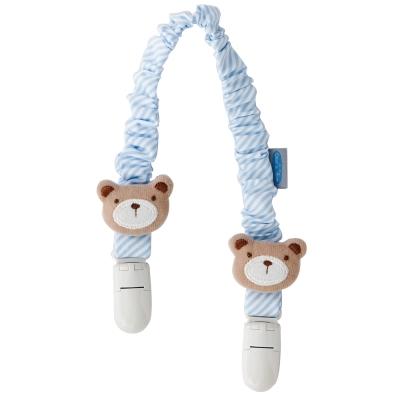 奇哥 熊熊多功能圍兜夾-藍色