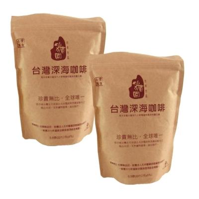 台東果子狸-台灣深海咖啡豆-半磅x2包