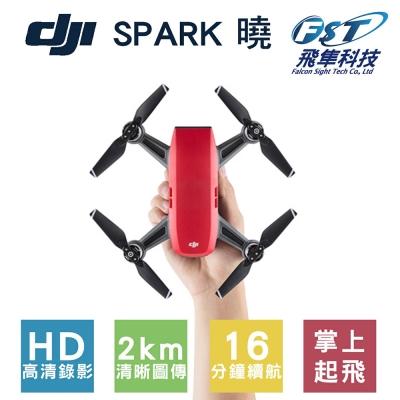 DJI SPARK空拍機 全能套裝 荔枝紅(飛隼公司貨)+基礎飛行課程