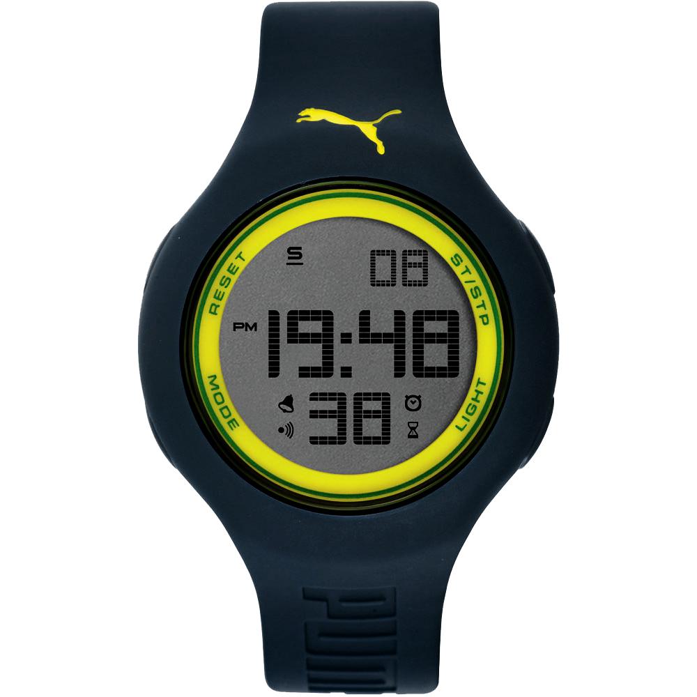 PUMA 陽光信號電子腕錶-PU910801043/45mm