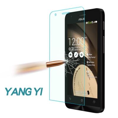 YANGYI 揚邑 ASUS ZenFone C 防爆防刮防眩弧邊 9H鋼化玻璃...