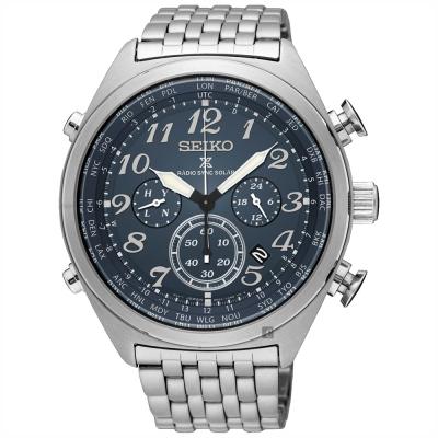 SEIKO精工 Prospex 電波修正功能計時錶(SSG011P1)-45mm