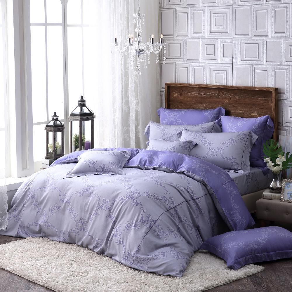 OLIVIA   安德魯  標準雙人床包枕套三件組    棉天絲系列 全