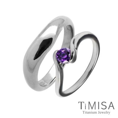 TiMISA 美好心情(4色可選) 純鈦對戒