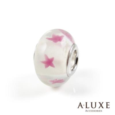 Charming系列 925純銀珠飾- 粉紅沙灘 Pink Beach