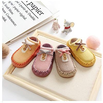 春夏寶寶甜美公主防滑學步地板襪- 2 入組(隨機出貨)