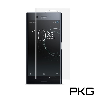 PKG SONY XZ1 保護貼-全滿版玻璃-透明