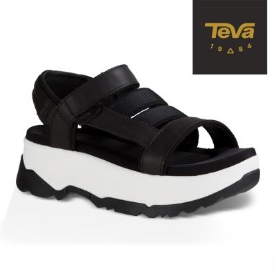 TEVA-美國-女-Zamora-厚底涼鞋-黑