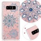 KnowStar 三星 Galaxy Note8 奧地利彩鑽防摔手機殼-冰霰