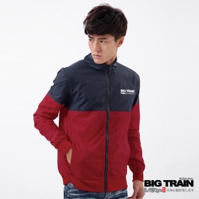 BIGTRAIN-防風配色LOGO外套