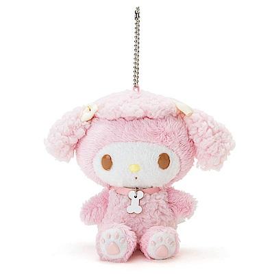 Sanrio 美樂蒂裝扮狗狗趣味玩偶吊鍊