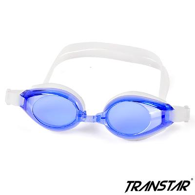 TRANSTAR 兒童泳鏡 抗UV六段調扣-防霧純矽膠