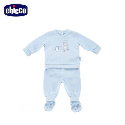 chicco冰雪小熊夾棉連身衣套裝 (3個月-12個月)