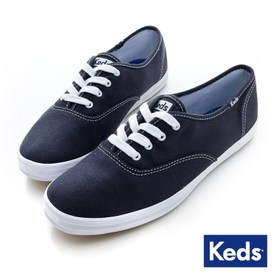 Keds-經典長青帆布鞋-海軍藍