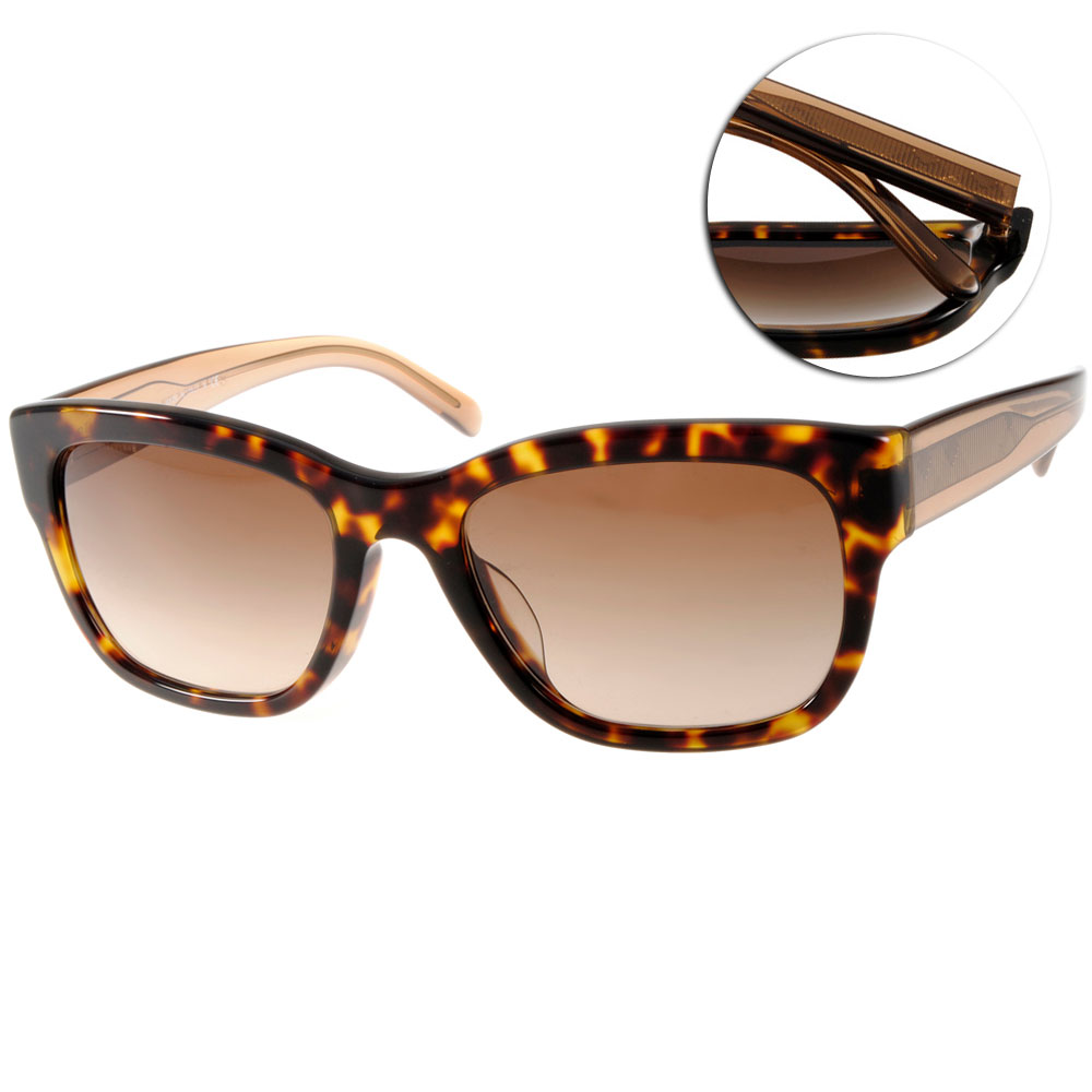 BURBERRY太陽眼鏡 歐美時尚/深邃琥珀#BU4188F 350613