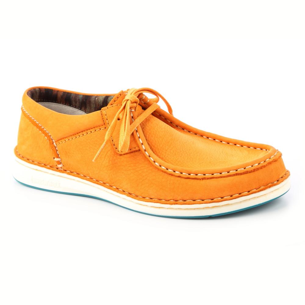 勃肯BIRKENSTOCK495661帕莎蒂娜繫帶休閒鞋 (粉橘)